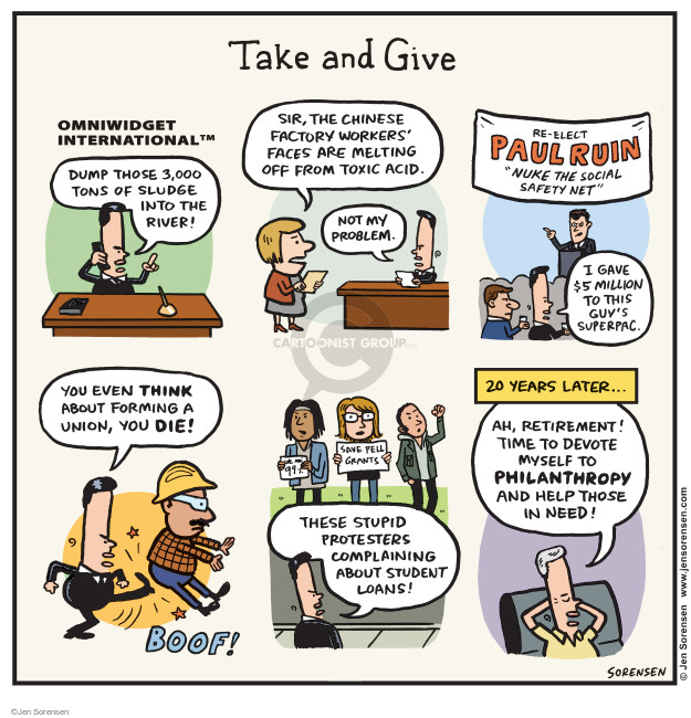 Cartoonist Jen Sorensen  Jen Sorensen's Editorial Cartoons 2014-12-29 corporate