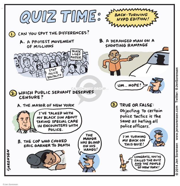 Cartoonist Jen Sorensen  Jen Sorensen's Editorial Cartoons 2015-01-05 death