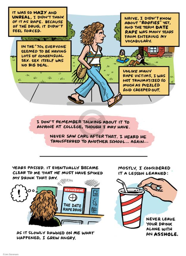 Jen Sorensen  Jen Sorensen's Editorial Cartoons 2015-03-25 May Day