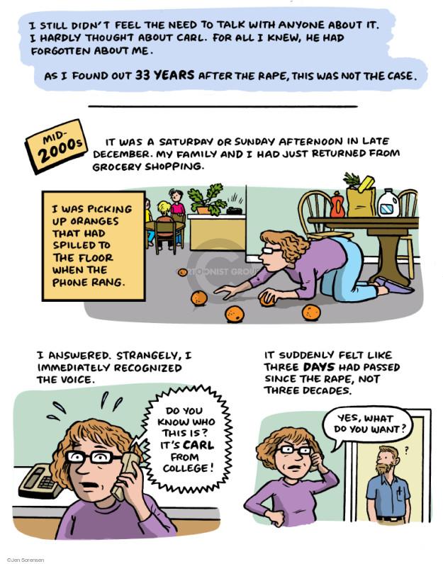 Jen Sorensen  Jen Sorensen's Editorial Cartoons 2015-03-25 left you
