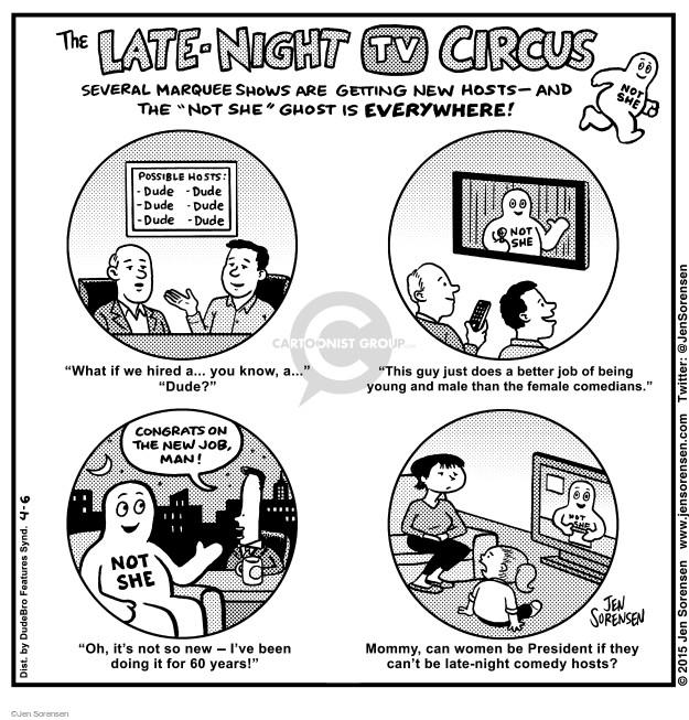 Cartoonist Jen Sorensen  Jen Sorensen's Editorial Cartoons 2015-04-08 late-night