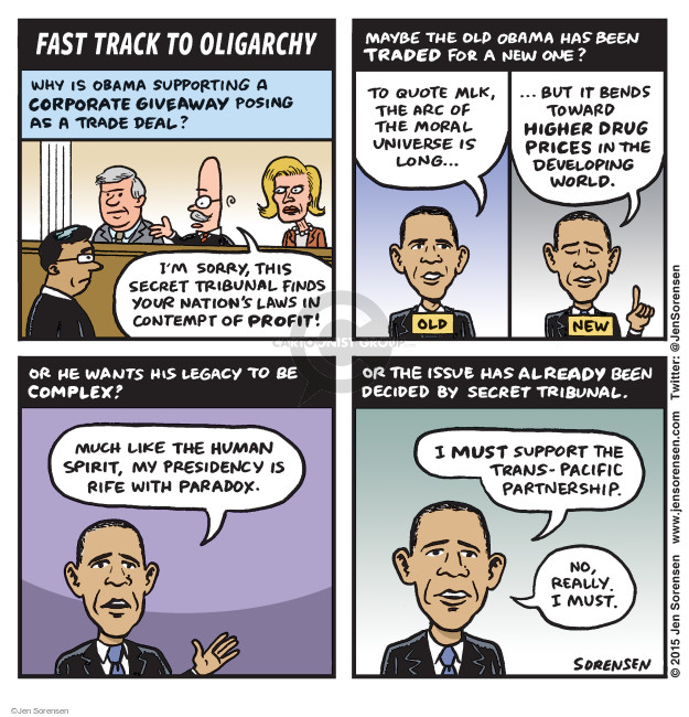 Cartoonist Jen Sorensen  Jen Sorensen's Editorial Cartoons 2015-06-08 corporate