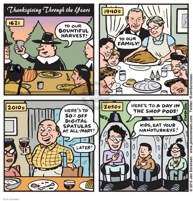 Jen Sorensen  Jen Sorensen's Editorial Cartoons 2015-11-23 1940s