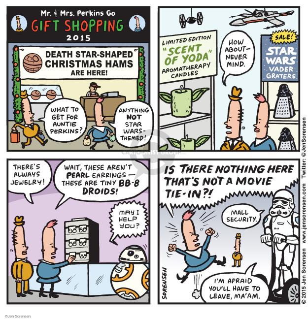 Jen Sorensen  Jen Sorensen's Editorial Cartoons 2015-12-14 left you