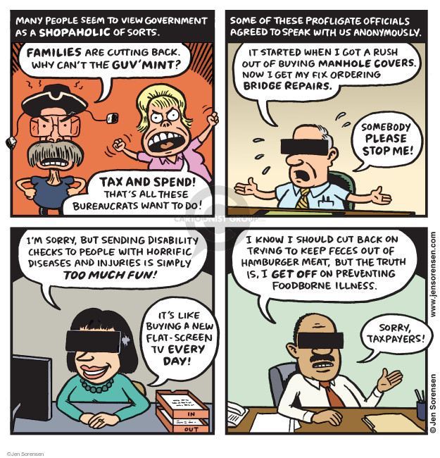 Jen Sorensen  Jen Sorensen's Editorial Cartoons 2015-12-21 tax
