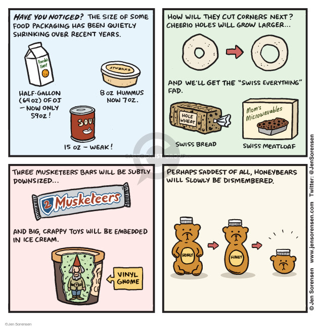 Cartoonist Jen Sorensen  Jen Sorensen's Editorial Cartoons 2015-12-28 profit