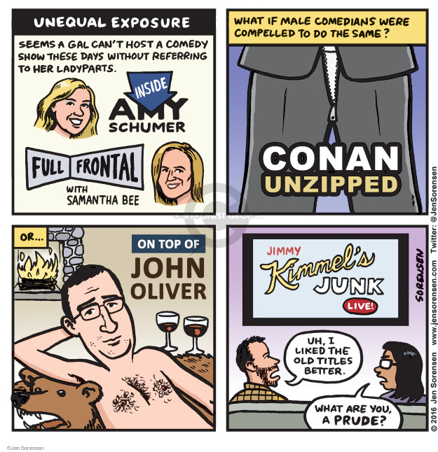 Cartoonist Jen Sorensen  Jen Sorensen's Editorial Cartoons 2016-01-11 junk