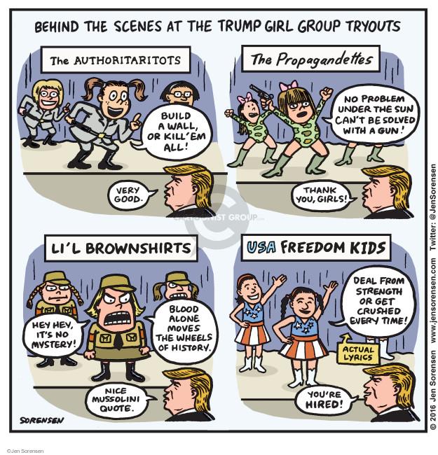 Cartoonist Jen Sorensen  Jen Sorensen's Editorial Cartoons 2016-01-18 fascist