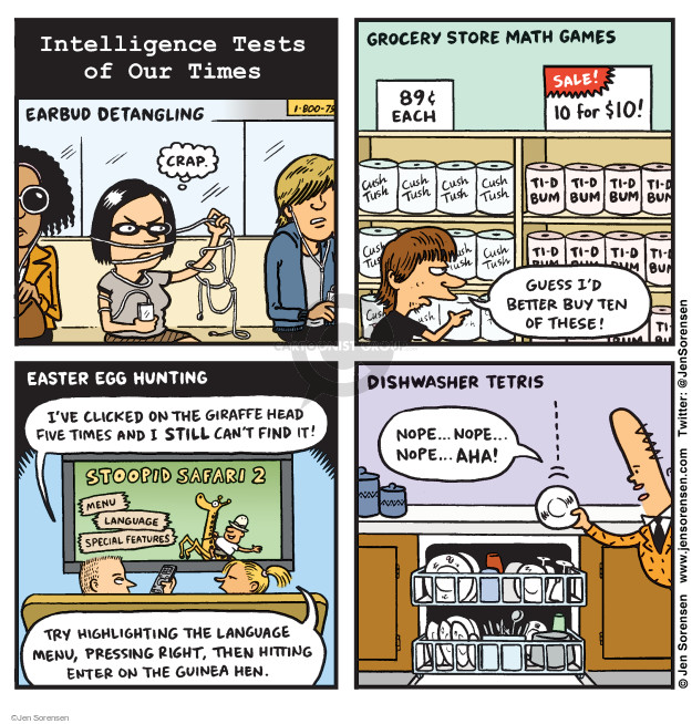 Jen Sorensen  Jen Sorensen's Editorial Cartoons 2016-05-30 $10