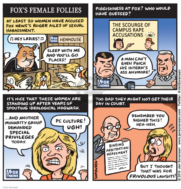 Jen Sorensen  Jen Sorensen's Editorial Cartoons 2016-08-15 employment