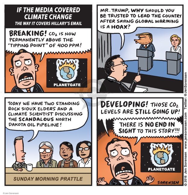 Cartoonist Jen Sorensen  Jen Sorensen's Editorial Cartoons 2016-10-31 2016 election