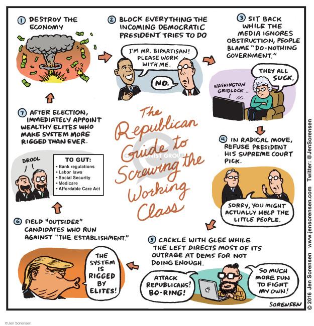 Jen Sorensen  Jen Sorensen's Editorial Cartoons 2016-12-19 Mitch McConnell