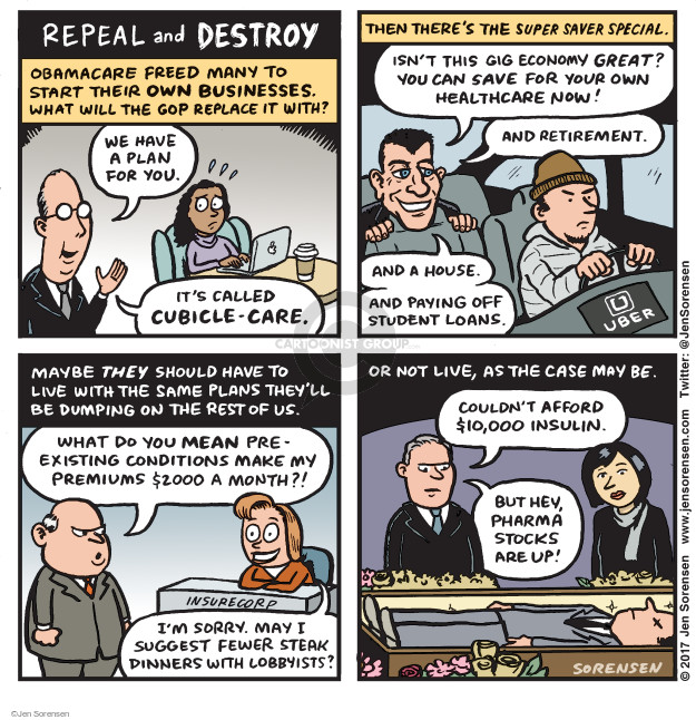 Jen Sorensen  Jen Sorensen's Editorial Cartoons 2017-01-09 $2,000