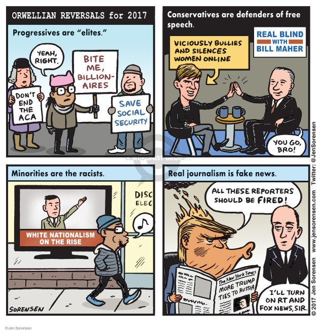 Cartoonist Jen Sorensen  Jen Sorensen's Editorial Cartoons 2017-02-20 security