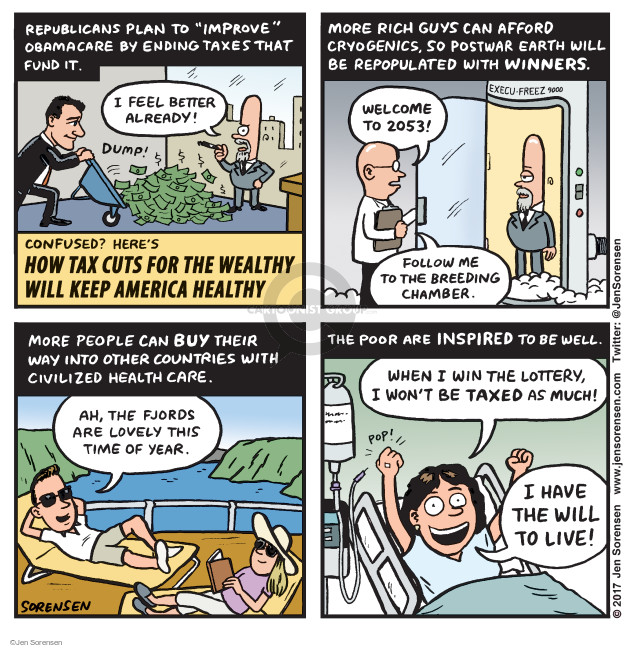 Jen Sorensen  Jen Sorensen's Editorial Cartoons 2017-03-06 act