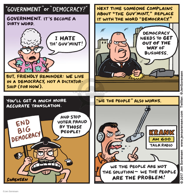Jen Sorensen  Jen Sorensen's Editorial Cartoons 2017-03-27 anti-government