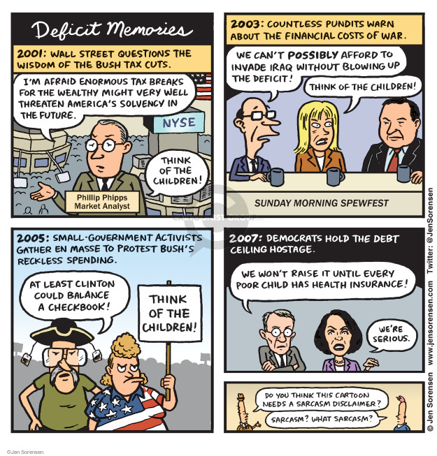 Cartoonist Jen Sorensen  Jen Sorensen's Editorial Cartoons 2017-04-24 financial