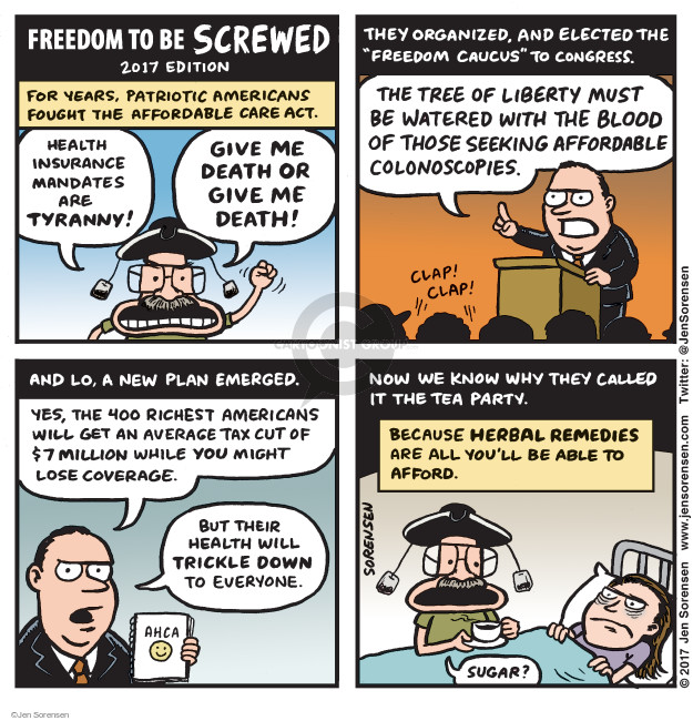 Jen Sorensen  Jen Sorensen's Editorial Cartoons 2017-05-08 act