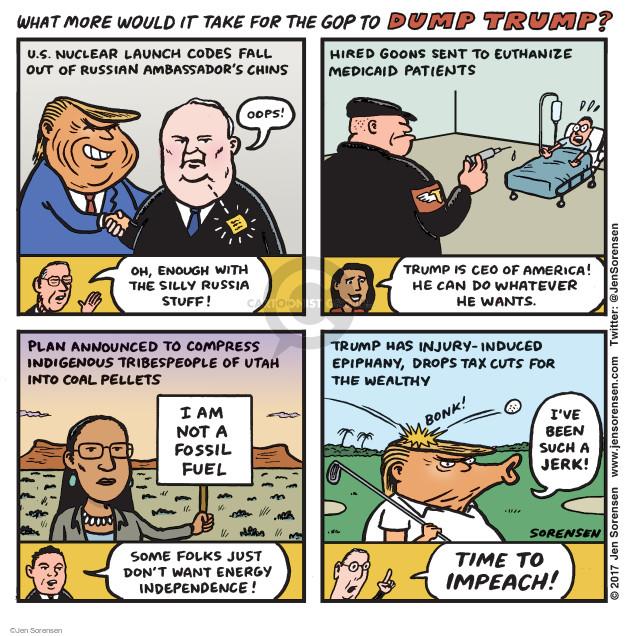 Cartoonist Jen Sorensen  Jen Sorensen's Editorial Cartoons 2017-05-15 tax cut
