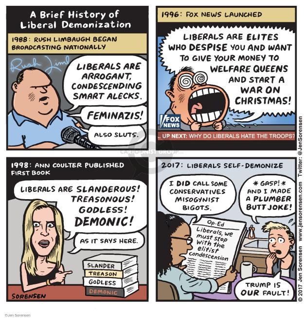 Cartoonist Jen Sorensen  Jen Sorensen's Editorial Cartoons 2017-05-29 stop it