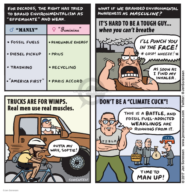 Jen Sorensen  Jen Sorensen's Editorial Cartoons 2017-06-05 decade