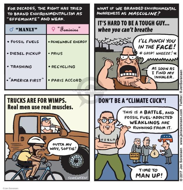 Cartoonist Jen Sorensen  Jen Sorensen's Editorial Cartoons 2017-06-05 air pollution