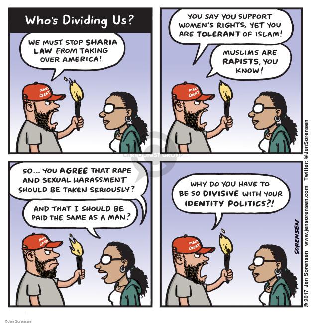 Jen Sorensen  Jen Sorensen's Editorial Cartoons 2017-06-12 identity politics