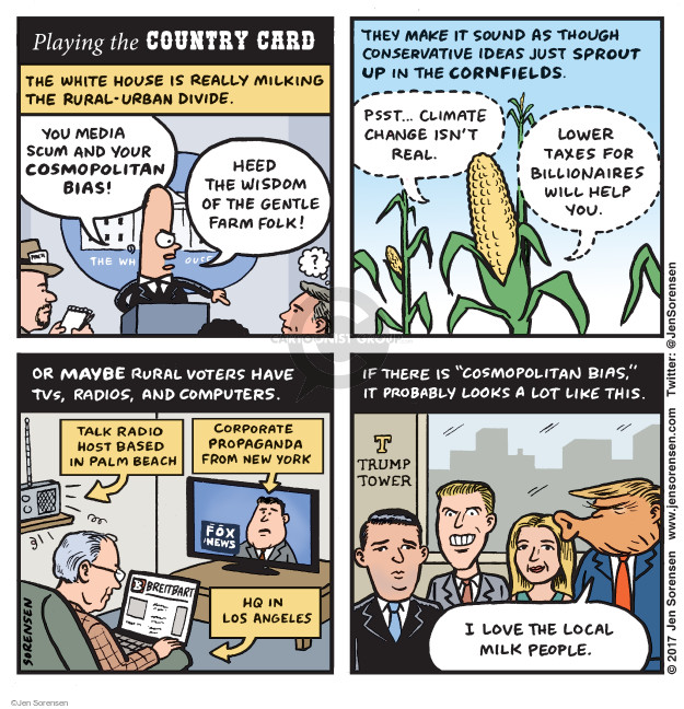 Cartoonist Jen Sorensen  Jen Sorensen's Editorial Cartoons 2017-08-07 corporate