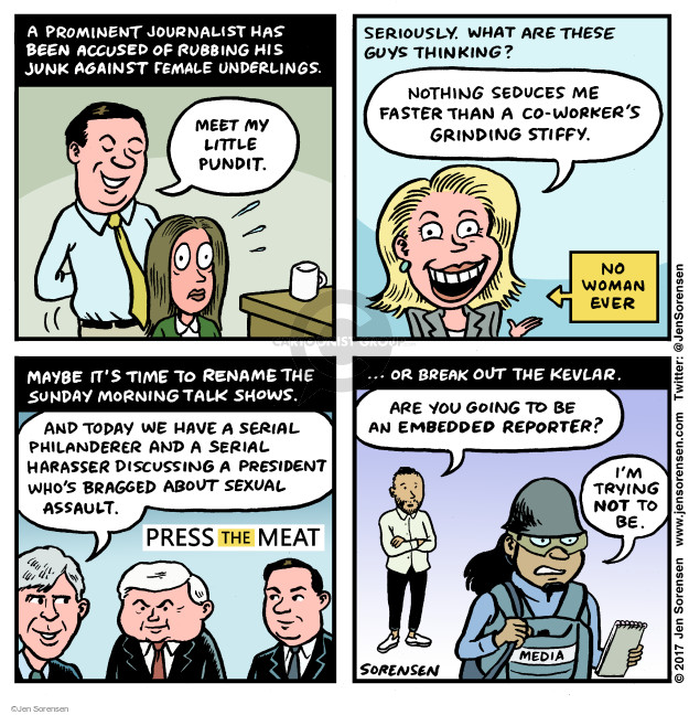 Jen Sorensen  Jen Sorensen's Editorial Cartoons 2017-10-30 woman