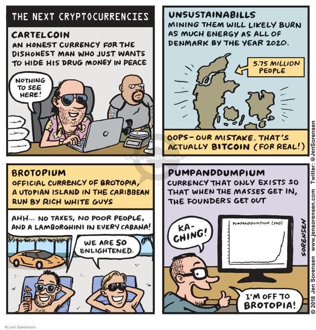Jen Sorensen  Jen Sorensen's Editorial Cartoons 2018-01-29 money