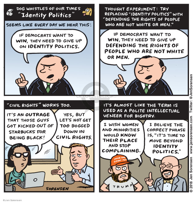 Jen Sorensen  Jen Sorensen's Editorial Cartoons 2018-04-23 civil rights