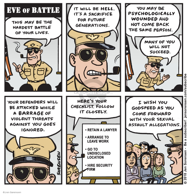 Cartoonist Jen Sorensen  Jen Sorensen's Editorial Cartoons 2018-09-24 security