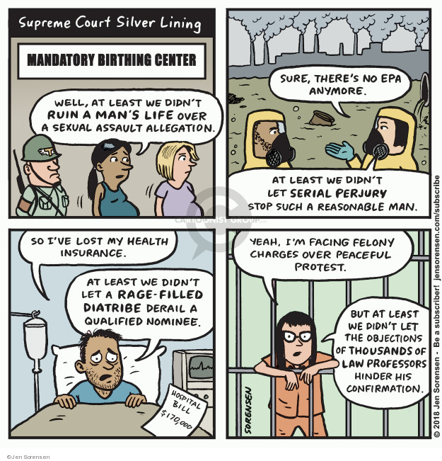 Jen Sorensen  Jen Sorensen's Editorial Cartoons 2018-10-08 Environmental Protection Agency