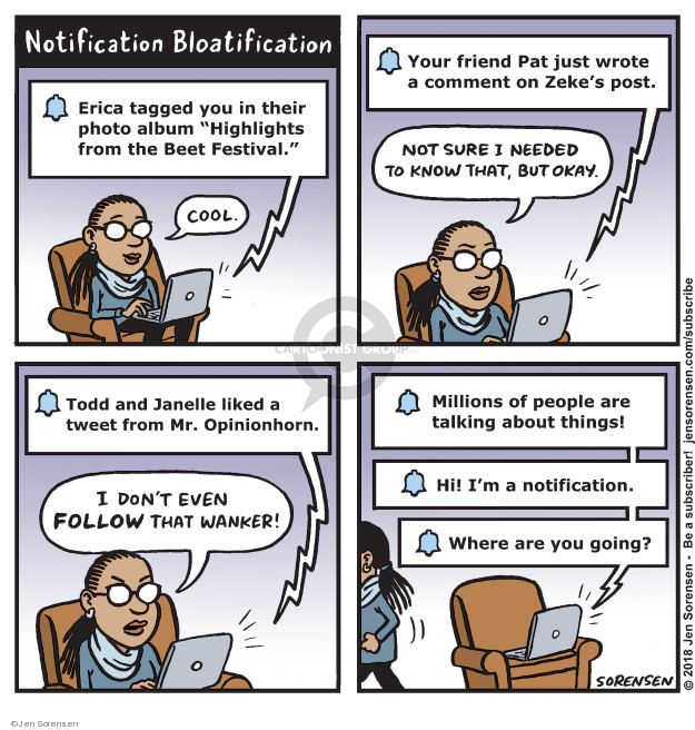 Jen Sorensen  Jen Sorensen's Editorial Cartoons 2018-11-19 media