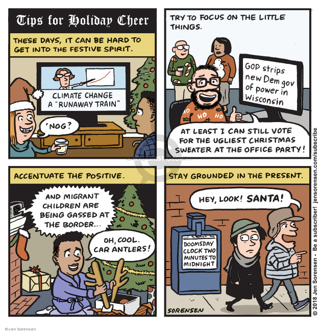 Jen Sorensen  Jen Sorensen's Editorial Cartoons 2018-12-10 midterm election