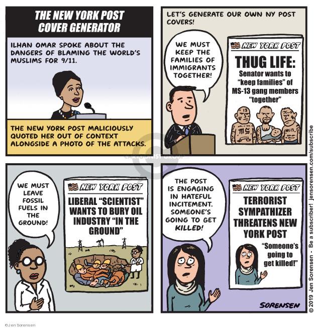 Cartoonist Jen Sorensen  Jen Sorensen's Editorial Cartoons 2019-04-16 life