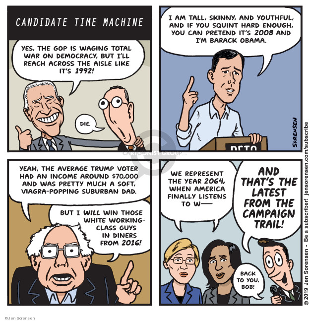 Cartoonist Jen Sorensen  Jen Sorensen's Editorial Cartoons 2019-05-06 democratic