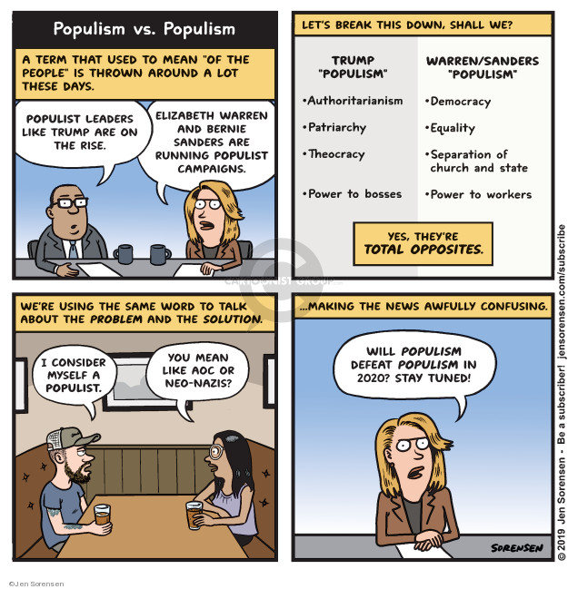 Cartoonist Jen Sorensen  Jen Sorensen's Editorial Cartoons 2019-07-01 people