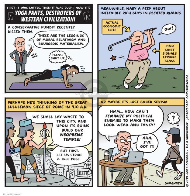 Jen Sorensen  Jen Sorensen's Editorial Cartoons 2019-09-09 make