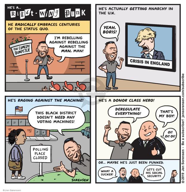 Jen Sorensen  Jen Sorensen's Editorial Cartoons 2019-10-14 voting rights
