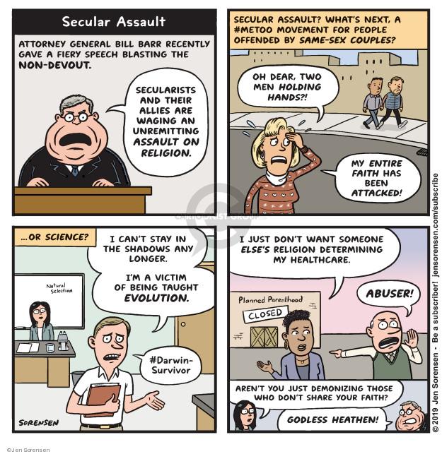 Jen Sorensen  Jen Sorensen's Editorial Cartoons 2019-11-04 people