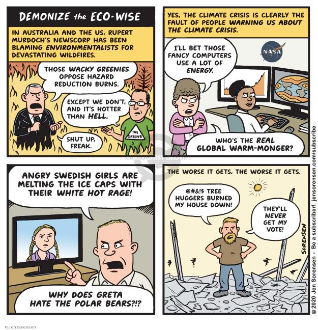 Jen Sorensen  Jen Sorensen's Editorial Cartoons 2020-01-13 people