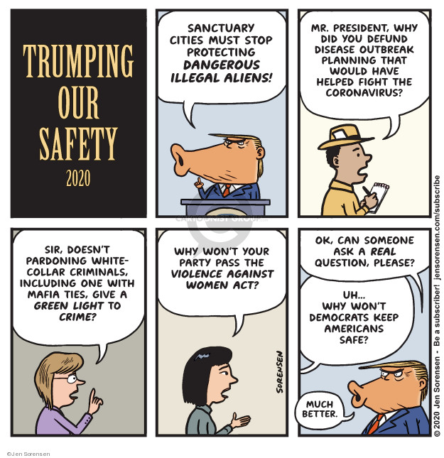 Cartoonist Jen Sorensen  Jen Sorensen's Editorial Cartoons 2020-02-24 president