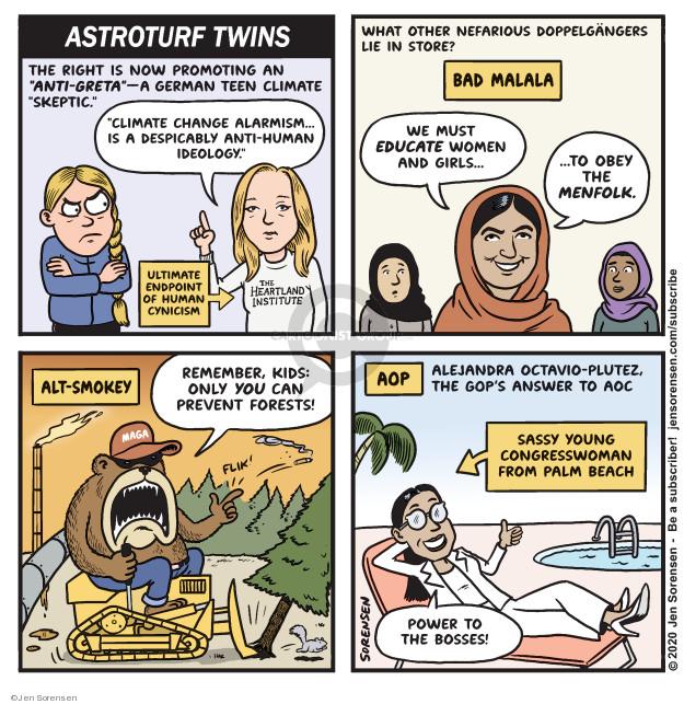 Cartoonist Jen Sorensen  Jen Sorensen's Editorial Cartoons 2020-03-02 school