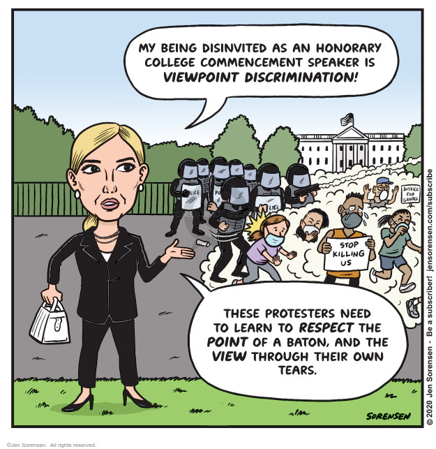 Jen Sorensen  Jen Sorensen's Editorial Cartoons 2020-06-09 discrimination