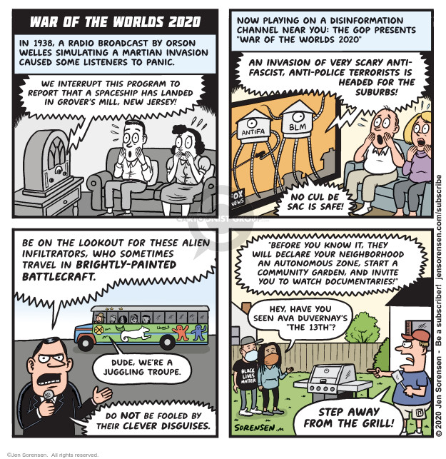 Jen Sorensen  Jen Sorensen's Editorial Cartoons 2020-06-16 media