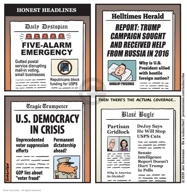 Jen Sorensen  Jen Sorensen's Editorial Cartoons 2020-08-25 voter