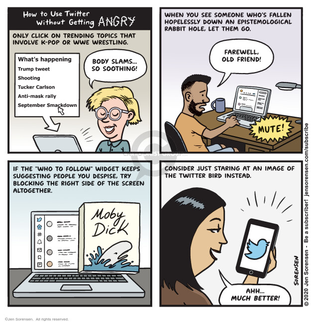 Jen Sorensen  Jen Sorensen's Editorial Cartoons 2020-09-14 media