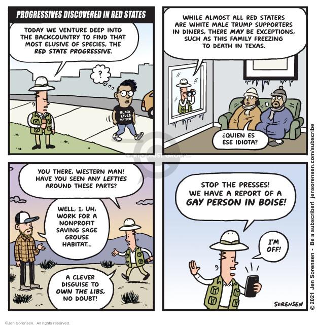 Jen Sorensen  Jen Sorensen's Editorial Cartoons 2021-02-23 Black Lives Matter