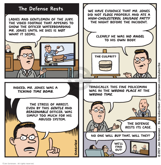 Jen Sorensen  Jen Sorensen's Editorial Cartoons 2021-04-20 civil rights